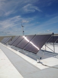 Solar Hot Water and PoolMass Maritime Academy